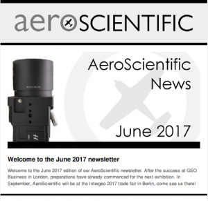 AeroScientific Newsletter – June 2017