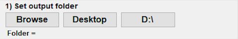 Aviatrix Output Folder