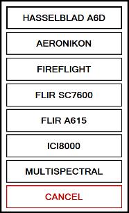 Aviatrix Camera List