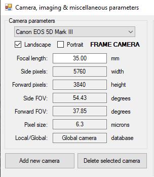 aerial-survey-camera-parameters